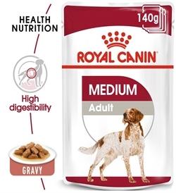 Royal Canin Medium Adult Wet Food 140g