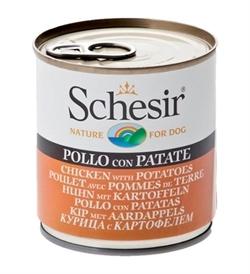 Schesir Chicken With Potatoes Dog Can 285g