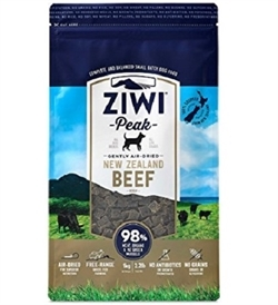 Ziwipeak Air Dried Beef For Dogs 4kg