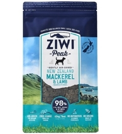 Ziwipeak Air Dried Mackerel & Lamb For Dogs 1kg