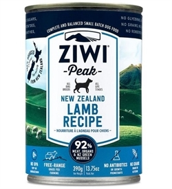 Ziwipeak Moist Lamb For Dogs 390g