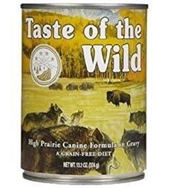 Taste Of The Wild High Prairie Canine In Gravy 375g