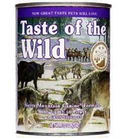 Taste Of The Wild Sierra Mountain Canine In Gravy 375g