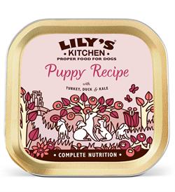 Lilys Kitchen Turkey & Duck Puppy Recipe 150g