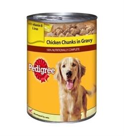 Pedigree Chicken Chunks In Gravy 400g