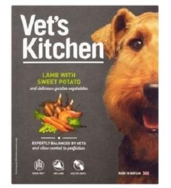 Vets Kitchen Grain Free Lamb With Sweet Potato Dog Wet Food 395g