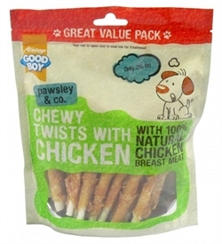 Armitage Good Boy Chewy Chicken Twists Value Pack 320g