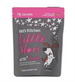 Vets Kitchen Little Stars Salmon Active+ Dog Treats 85g