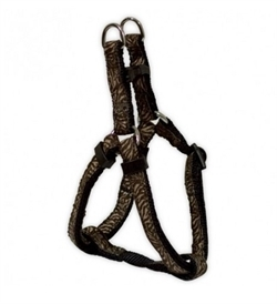 Doogy Savane Nylon Climbing Harness Zebra Brown 25-40cmx10mm