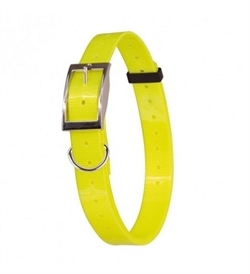 Doogy Nylon Or Polyurethane Collar Yellow 1.2mmx20mm