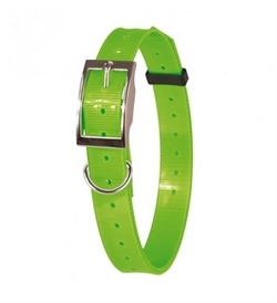 Doogy Nylon Or Polyurethane Collar Green Fluorescent 1.2mmx20mm