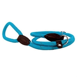 Doogy Run-Around Lasso Nylon Rope Reflective Leash Blue 1.50mmx6mm