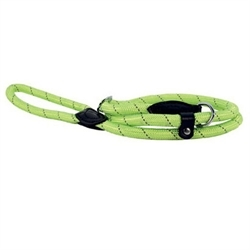 Doogy Run-Around Lasso Nylon Rope Reflective Leash Green 1.50mmx6mm