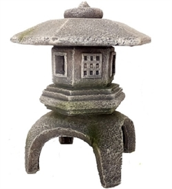 Aqua Della Balinese Lantern 2 12.5x12.5x14.8cm