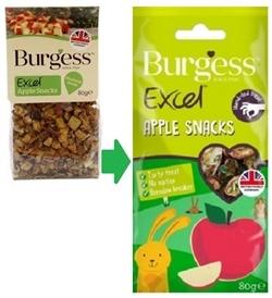 Burgess Excel Apple Snack 80g