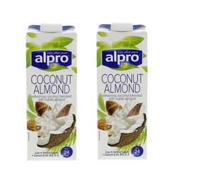 Alpro Coconut Almond Drink 2x1L
