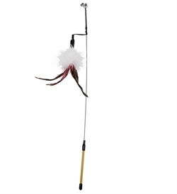 Trixie Playing Rod With Feather 50cm