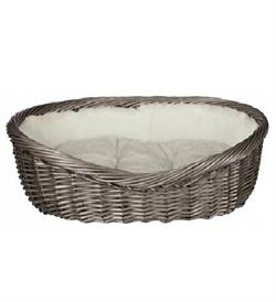 Trixie Grey Wicker Baskets 60cm