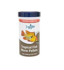 Fish Science Tropical Fish Worm Pellets 55g