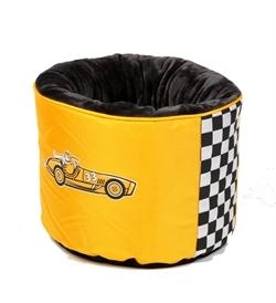 Kiwi Walker Racing Cigar Nest Bed Orange 45×45×35cm