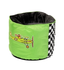 Kiwi Walker Racing Aero Nest Bed Green 45×45×35cm