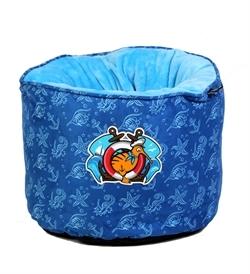 Kiwi Walker Sailor Nest Bed Dark Blue Or Light Blue 45×45×35cm