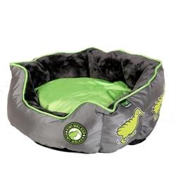 Kiwi Walker Running Base Bed Green/Grey Large 75×50×24cm