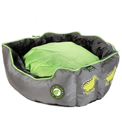 Kiwi Walker Running Base Bed Green/Grey Extra Large 65×65×22cm