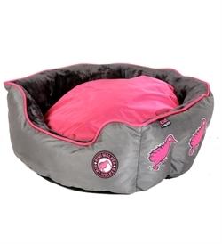 Kiwi Walker Running Base Bed Pink/Grey Extra Large 65×65×22cm