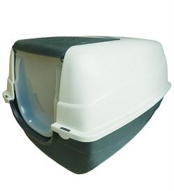 Thunder Paws Hurricane Jumbo Open Top Cat Litter Box Dark Grey Or Near Black 70x56x46cm