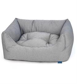Project Blu Adriatic Domino Bed Grey Medium 70cmx60cmx20cm