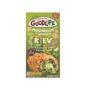 Goodlife Mushroom & Spinach Kiev 250g