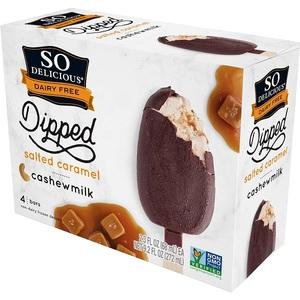 So Delicious Salted Caramel Ice Cream Bar 9.2oz