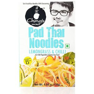Chings Pad Thai Noodles Lemongrass & Chilli 130g