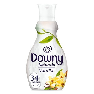 Downy Naturals Concentrate Fabric Softener Vanilla Scent 1.38L
