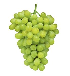 Grapes White Seedless India 500g