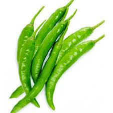 Chilli Green Hot Organic 250g