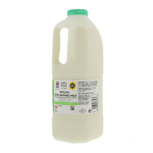 British Semi Skimmed Milk 2 Pints 1.1L