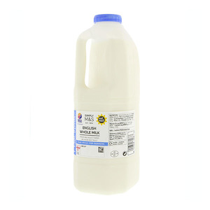 British Whole Milk 2 Pints 1.1L