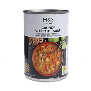 Chunky Vegetable Soup 400g