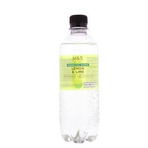 Sparkling Lemon & Lime Water 500ml