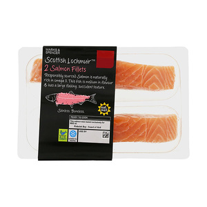 Scottish Lochmuir 2 Salmon Fillets 242g