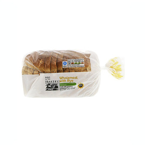 Whole Meal Bread With Rye 400g