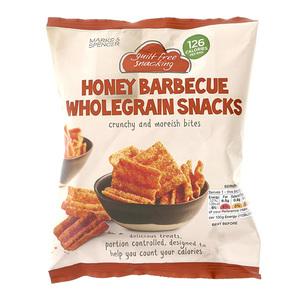 Honey Barbecue Wholegrain Snacks 25g