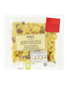 Moroccan Style Fruity Couscous Salad 200g
