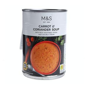 Carrot & Coriander Soup 400g