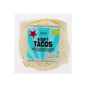 8 Soft Tacos 272g
