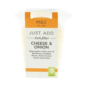 Cheese & Onion Deli Filler 220g