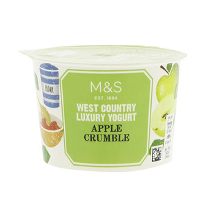 West Country Apple Crumble Yogurt 150g