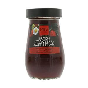 British Strawberry Jam 250g